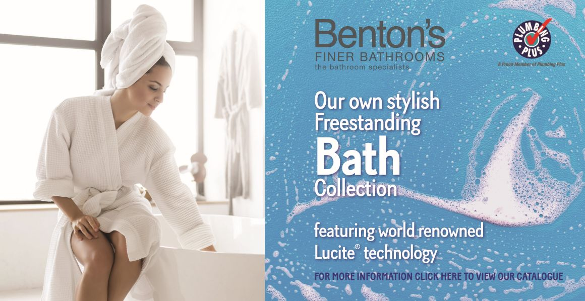 Benton's Finer Bathrooms Freestanding Bath Collection