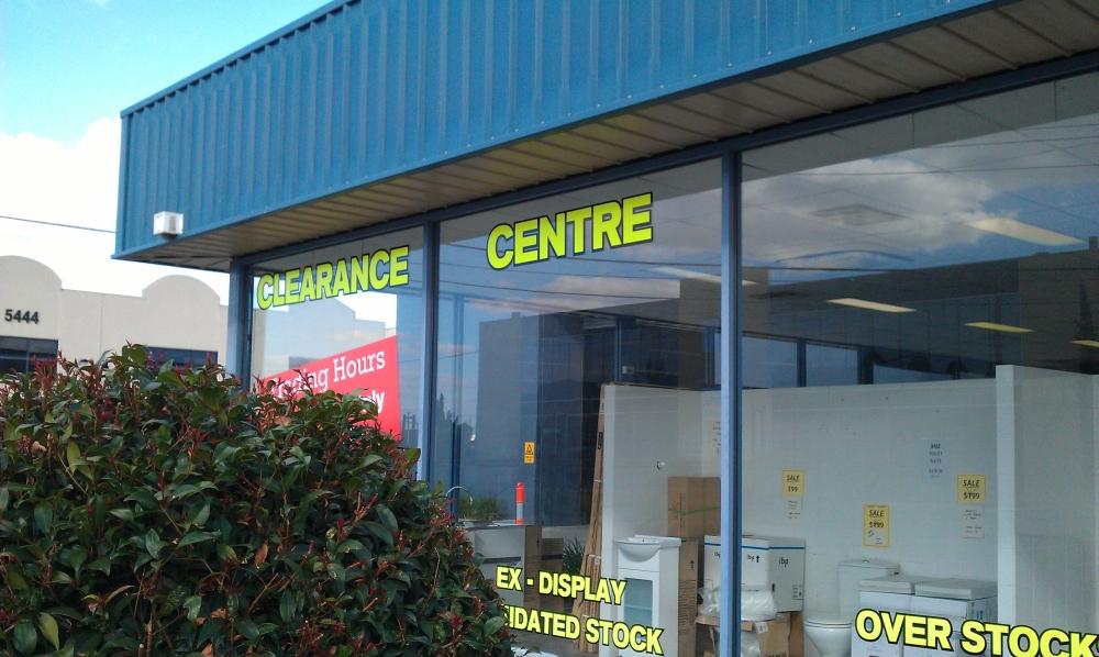 Benton\'s Finer Bathrooms | East Keilor Clearance Centre