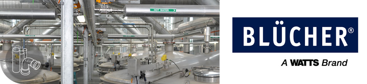 Blucher Stainless Steel Piping System